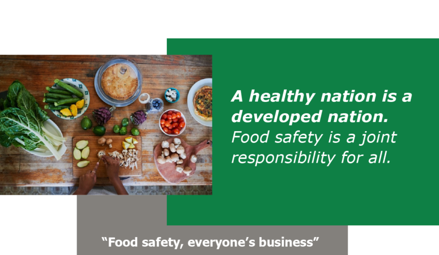 Food Safety, Everyone's Business
