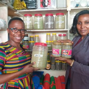 Women Group offers Local Market for Herbs and Spices #IWD2021