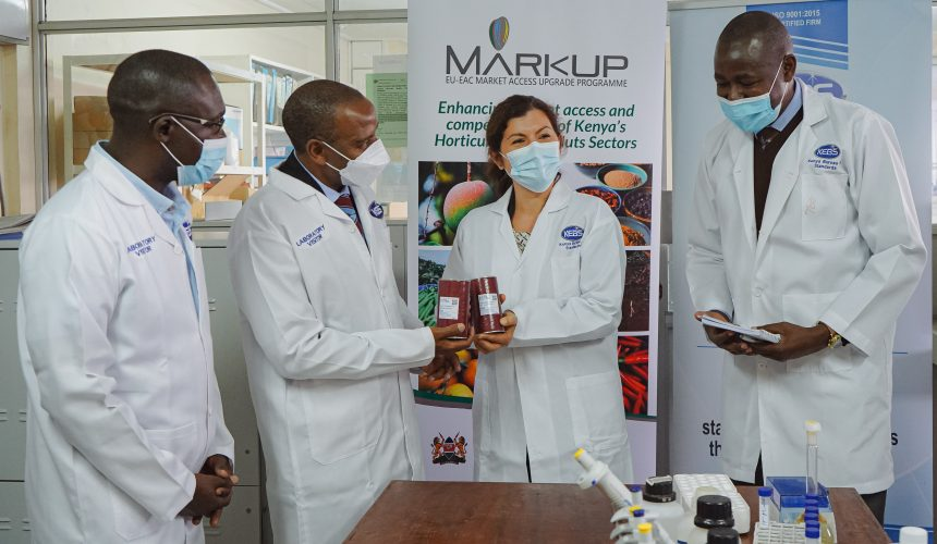 World Standards Day: EU funded MARKUP supports KEBS with Certified Reference Materials